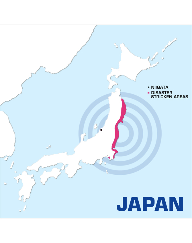 Disaster stricken areas_Great East Japan Earthquake_2011