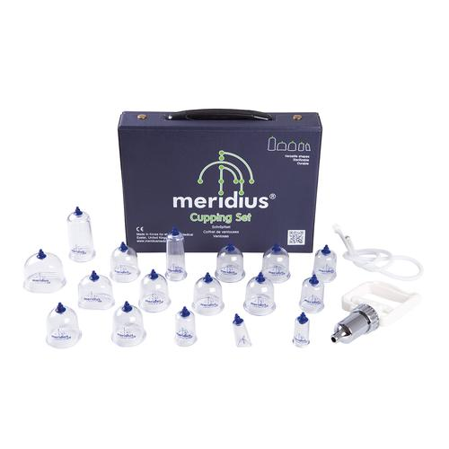 Meridius cupping set (17 cups + pump), 1015606, Cupping Glasses