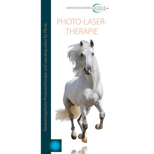 Flyer Laser Therapy Vet Horse LT, DE, 1018600, Acupuncture Books