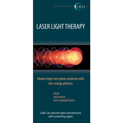 Flyer Laser Therapy Human LT, EN, 1018603, Acupuncture Charts and Models