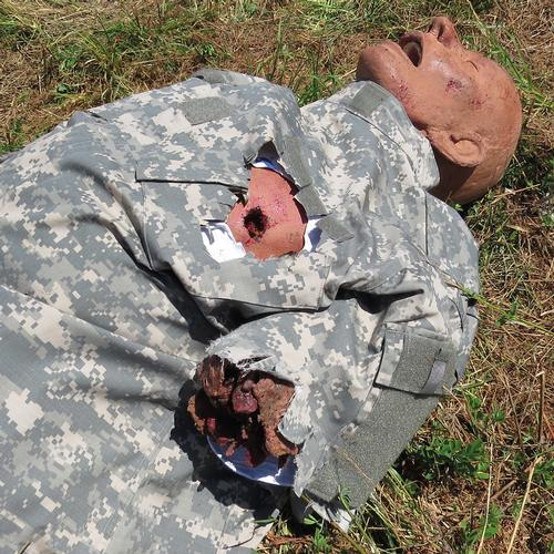 Tactical Combat Casualty Care Simulator with Traumatic Amputations and Gunshot Wounds - TCCS 4, 1021383, TCCC Training Manikins