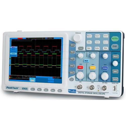Digital Oscilloscope Software : Digital oscilloscope mhz peaktech