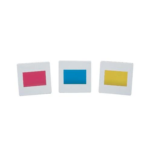 Set of 3 Colour Filters, Secondary Colours, 1003186 [U21879], Apertures, Diffraction Elements and Filters