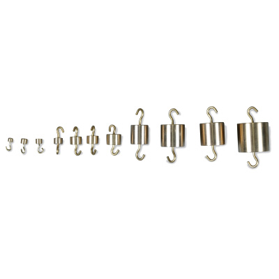 Set of Weights with Hooks, 500 g., 1010168 [U29543], Balance Weights