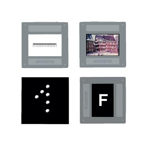 Set of 4 Image Objects, 1000886 [U8476605], Apertures, Diffraction Elements and Filters