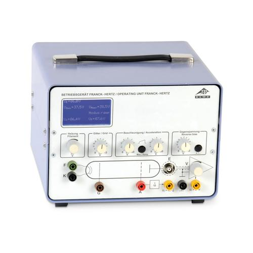 Premium Franck-Hertz Experiment Power Supply (230 V, 50/60 Hz), 1012819 [U8482530-230], Franck-Hertz Experiment