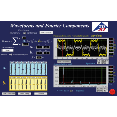 Software for Fourier Analysis, 1012587 [U8511700], Additional Accessories for Computer-aided Experimentation
