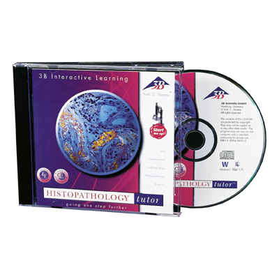 CD-ROM Histopathology, English (Macintosh/Windows), 1004881 [W14021], Biology Software