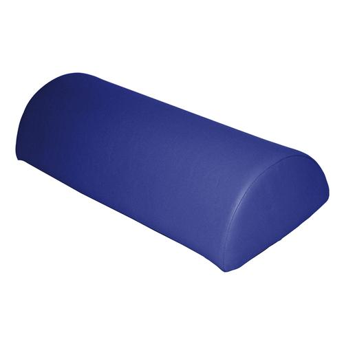 Half Moon Roll in Vinyl, Dark Blue, 1004997 [W15097DB], Pillows and Bolsters