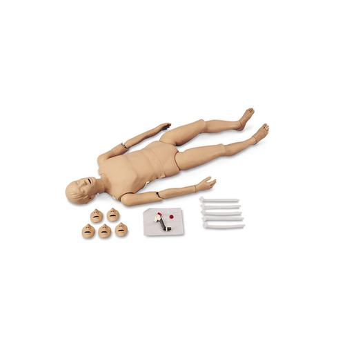 Full-Body CPR Manikin with Trauma Options - Caucasion, 1018871 [W44735], ALS Adult