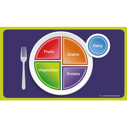 MyPlate Cling Place Mats