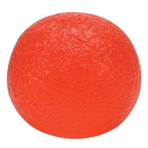 Cando Hand Exercise Ball - red/light - Circular, 1009100 [W58501R], Hand Exercisers