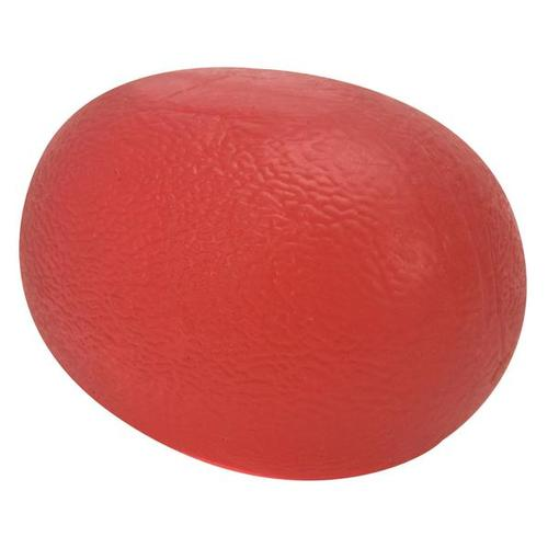 Cando Exercise Hand Ball - red/light - Cylindrical, 1009105 [W58502R], Hand Exercisers
