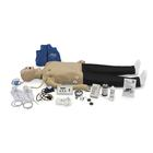 Deluxe CRiSis™ Resuscitation Training System with ECG and Advanced Airway Management - Full-Body, 1021989, ALS Adult
