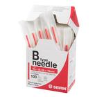 SEIRIN  ® type B - 0.16 x 15mm, red handle, 100 needles per box, 1017648 [S-B1615], Acupuncture Needles SEIRIN