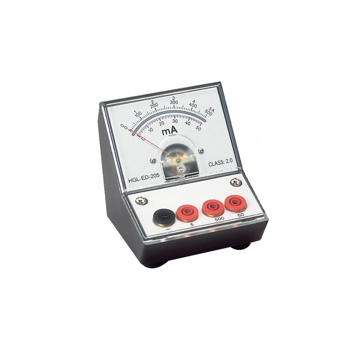 Analog Dc Ammeter : Dc ammeter peaktech u hand held