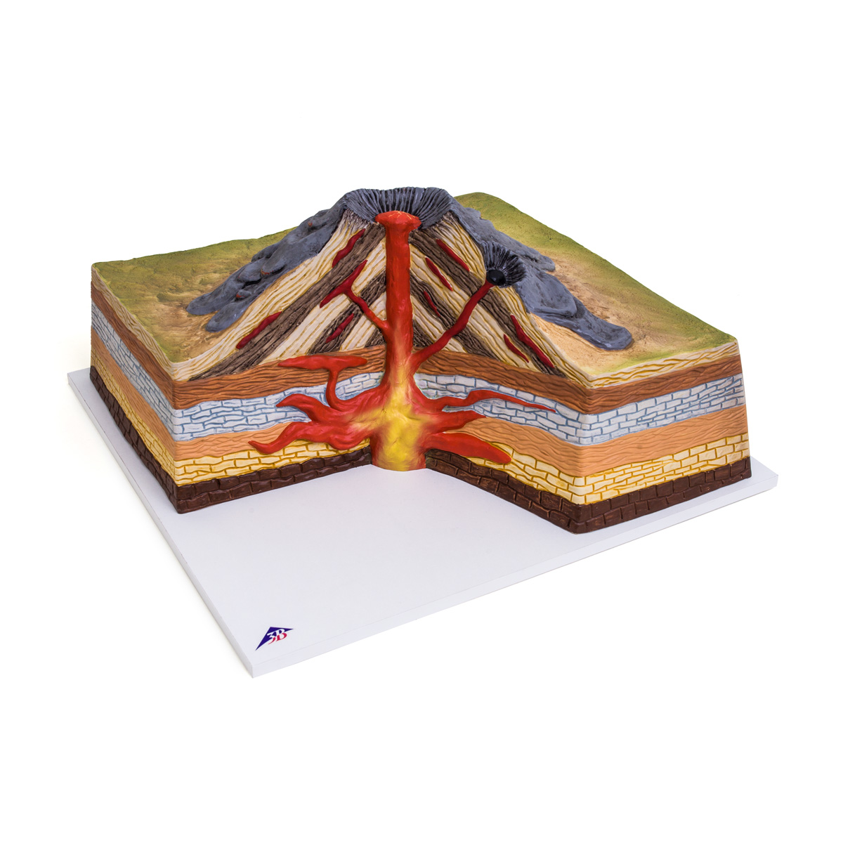 Stratovolcano - 1017595 - U70030 - Volcano Research - 3B ...