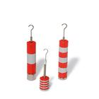 Set of Slotted Weights, 10 x 10 g, Red and Grey, 1000773 [U8404760], Balance Weights