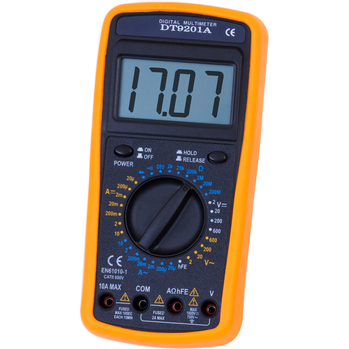 Digital Measuring Instrument : Digital multimeter e u hand held