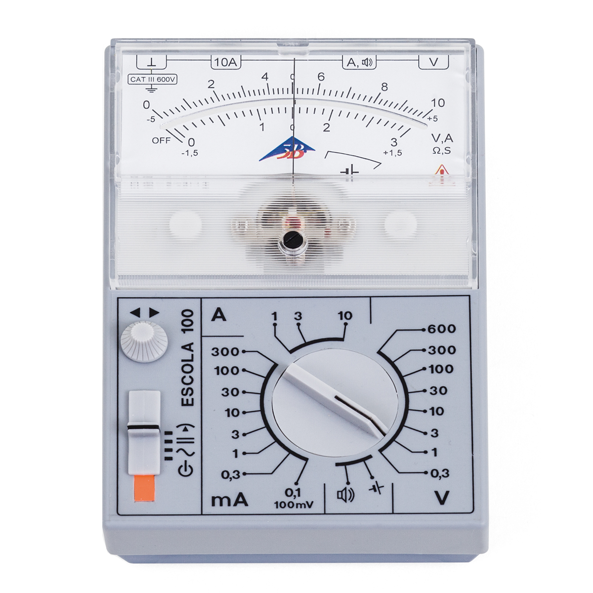 how to read analog multimeter