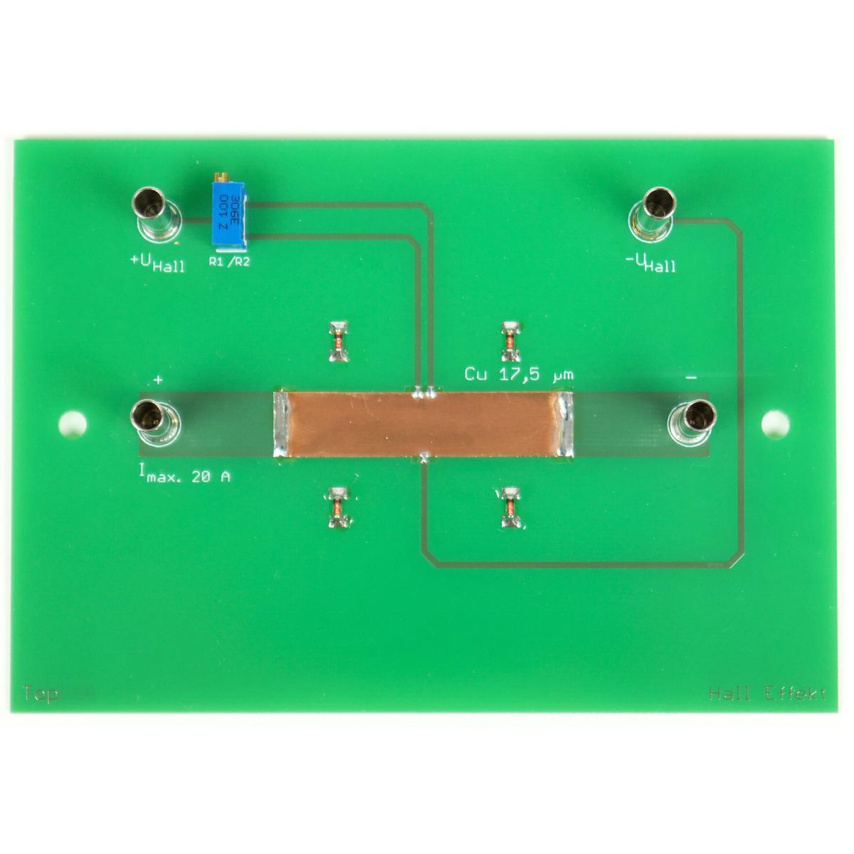 Copper Sample for Hall Effect - U8557400 - Hall-effect - 3B Scientific
