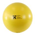 Cando Deluxe Anti-Burst Exercise Ball, yellow, 45cm, 1008998 [W40137], Exercise Balls
