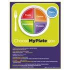 MyPlate Tear Pad with Food Group Tips, 1018321 [W44791TP], Nutrition Education