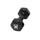 Cando Dumbbells - 8 lbs. Black, 1015478 [W53645], Weights