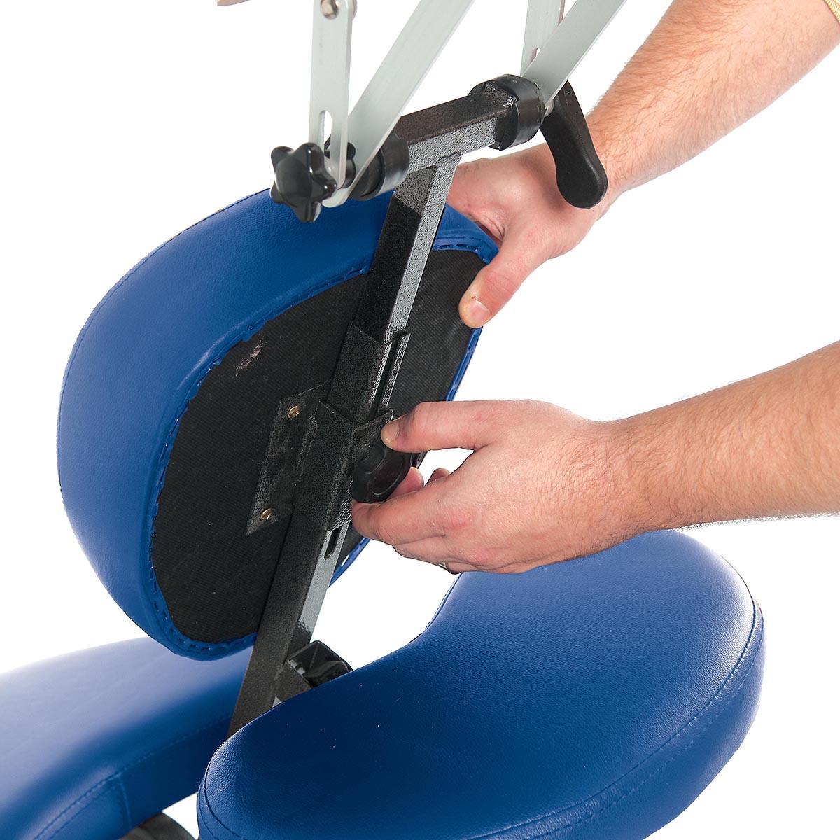 3b pro massage chair dark blue